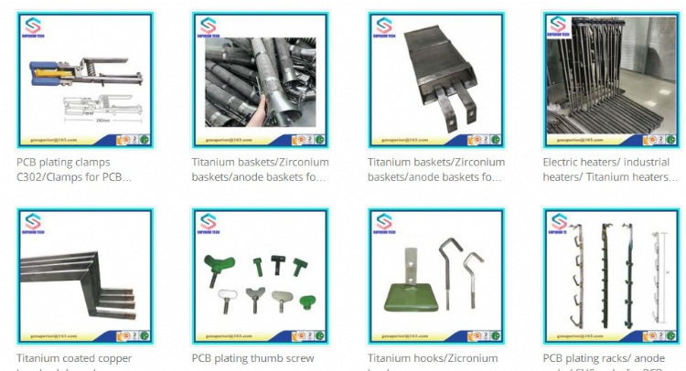 PCB Shop / Global Business from here - anode basket/anode